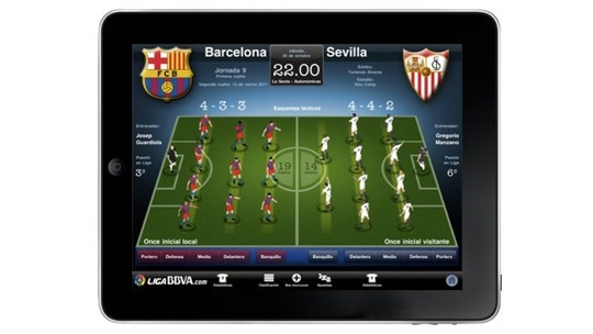 Liga BBVA HD iPad