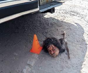 Mujer descuartizada en Ecatepec, Edo. de Mex.