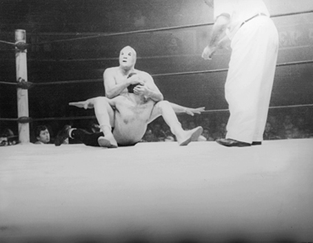 Image: Lucha Libre: 60 años de Santo vs Black Shadow. Máscara vs Máscara.