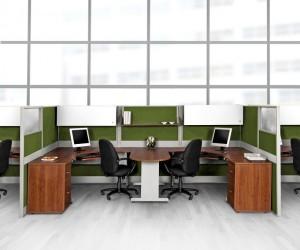 C mo utilizar cub culos para aprovechar los espacios for Cubiculos de oficina