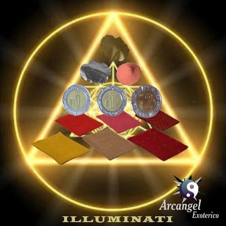 Amuleto illuminati para atraer el exito el dinero y la - Como quitar la mala suerte de mi vida ...