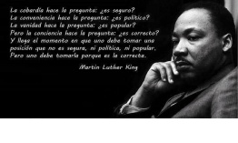 Carta a Marting Luther King