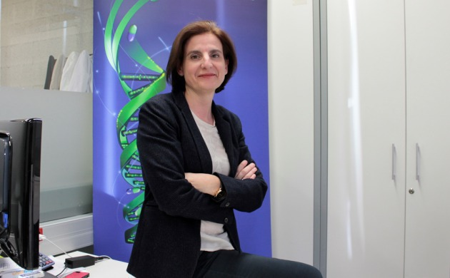 Dr. Carmen Plasencia, co-founder and CEO of Aromics. (Photo: Daniel Portales, Barcelona Science Park).