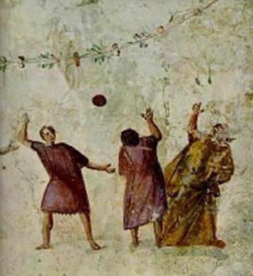 origenes, historia, futbol, origen, harpastum, roma, civilizacion romana