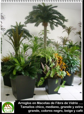 Las Plantas Artificiales En La Decoracion De Interiores